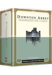DOWNTON ABBEY - 01ª A 05ª TEMPORADA (QTD: 19)