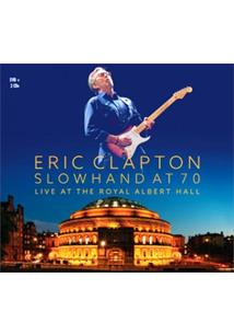 (CD+DVD) ERIC CLAPTON - SLOWHAND AT 70 LIVE AT THE ROYAL ALBERT HALL (QTD: 3)
