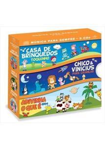 BOX INFANTIL - MÚSICA PARA SEMPRE (QTD: 3)