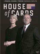 HOUSE OF CARDS - 01ª, 02ª, 03ª TEMPORADAS (QTD: 12)