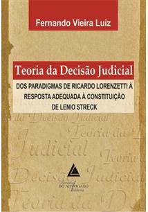 (eBook) TEORIA DA DECISÃO JUDICIAL