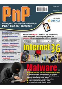EBOOK (eBook) PNP DIGITAL Nº 22 - COMPARTILHAMENTO DE INTERNET 3G