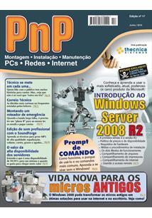 EBOOK (eBook) PNP DIGITAL Nº 17 - INTRODUÇÃO AO WINDOWS SERVER 2008 R2, PROMPT DE COMANDO, RECICLANDO COMPUTADORES ANTIGOS COM WINDOWS 2000