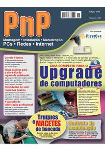 EBOOK (eBook) PNP DIGITAL Nº 15 - UPGRADE DE COMPUTADORES, TRUQUES DE BANCADA, CONTRATOS DE MANUTENÇÃO