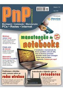 EBOOK (eBook) PNP DIGITAL Nº 13 - MANUTENÇÃO DE NOTEBOOKS, REDES E ROTEADORES WIRELESS, WINDOWS VERSUS LINUX, MATEMÁTICA FINANCEIRA