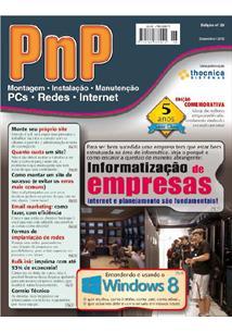EBOOK (eBook) PNP DIGITAL Nº 26 - INFORMATIZAÇÃO DE EMPRESAS, ENTENDENDO O WINDOWS 8