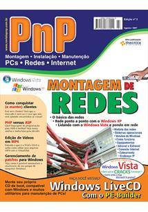 EBOOK (eBook) PNP DIGITAL Nº 3 - MONTAGEM DE REDES, WINDOWS LIVECD COM O BARTPE