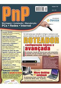 EBOOK (eBook) PNP DIGITAL Nº 20 - ROTEADORES: CONFIGURAÇÃO BÁSICA E AVANÇADA