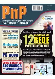 EBOOK (eBook) PNP DIGITAL Nº 24 - RESIDENCIAL, COMERCIAL, INDUSTRIAL: 12 MODELOS DE REDE PRONTOS PARA USAR
