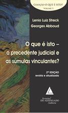 (eBook) O QUE É ISTO O PRECEDENTE JUDICIAL E AS SÚMULAS VINCULANTES?