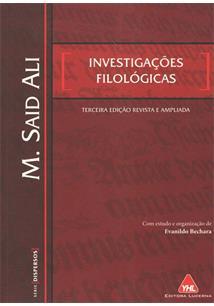 INVESTIGAÇOES FILOLOGICAS