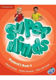 Super minds 4 - student ´ s book with dvd rom - cod. 9780521222181