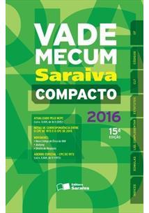 VADE MECUM SARAIVA 2016 COMPACTO