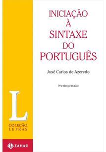 INICIAÇAO A SINTAXE DO PORTUGUES