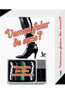 LIVRO VAMOS FALAR DE SEXO?: 100 PERGUNTAS PARA INICIAR CONVERSAS PICANTES