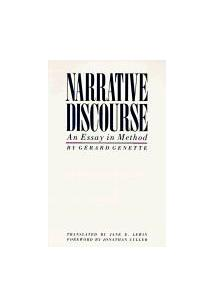 Narrative discourse an essay on method