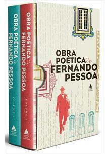 BOX OBRA POETICA DE FERNANDO PESSOA - 2 VOLUMES