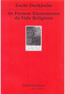 LIVRO AS FORMAS ELEMENTARES DA VIDA RELIGIOSA