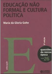 LIVRO EDUCAÇAO NAO FORMAL E CULTURA POLITICA