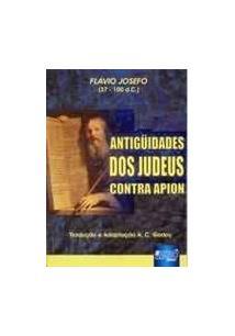 LIVRO ANTIGUIDADES DOS JUDEUS CONTRA APION