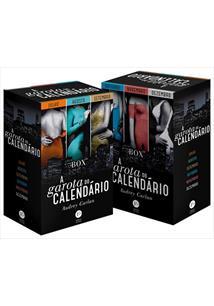 LIVRO BOX A GAROTA DO CALENDARIO: JULHO - DEZEMBRO