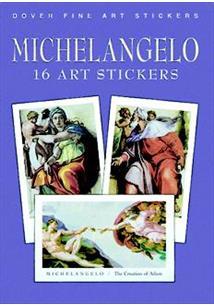 MICHELANGELO: 16 ART STICKERS