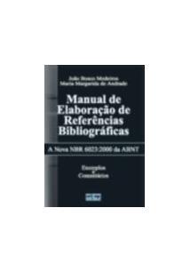 MANUAL DE ELABORAÇAO DE REFERENCIAS BIBLIOGRAFICAS
