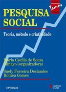 PESQUISA SOCIAL: TEORIA, METODO E CRIATIVIDADE