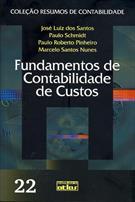 FUNDAMENTOS DE CONTABILIDADE DE CUSTOS
