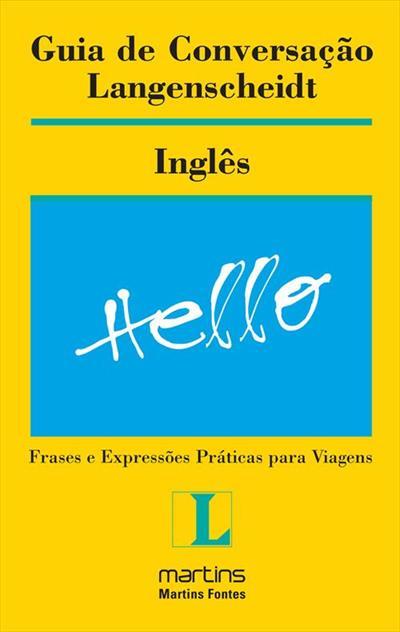 LIVRO GUIA DE CONVERSAÇAO LANGENSCHEIDT: INGLES