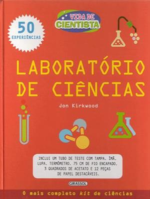 LIVRO VIDA DE CIENTISTA: LABORATORIO DE CIENCIAS