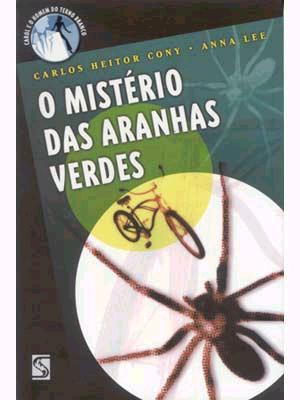 LIVRO O MISTERIO DAS ARANHAS VERDES