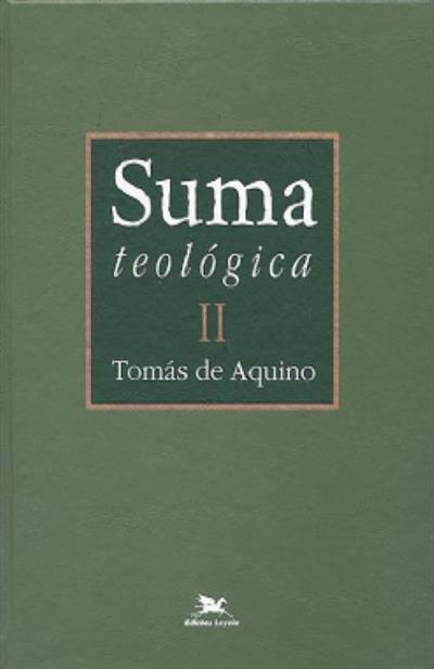 LIVRO SUMA TEOLOGICA II