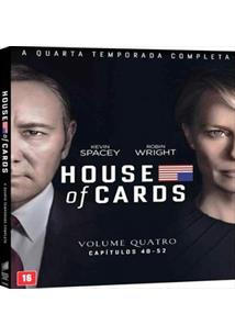 HOUSE OF CARDS - 04ª TEMPORADA (QTD: 4)