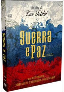 GUERRA E PAZ - DIGISTACK COM 3 DVD'S (QTD: 3)