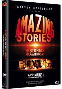 AMAZING STORIES - HISTÓRIAS MARAVILHOSAS - A PRIMEIRA TEMPORADA COMPLETA (QTD: ...