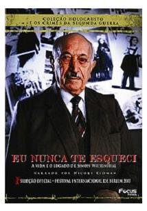 Resultado de imagem para Eu nunca te esqueci: O caçador de nazistas – Richard Trank