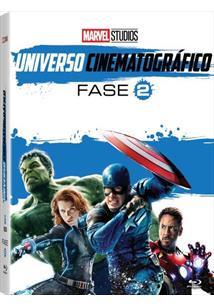(BLU-RAY) MARVEL STUDIOS UNIVERSO CINEMATOGRÁFICO FASE 2 (QTD: 6)