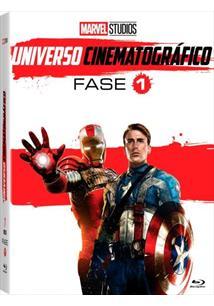 (BLU-RAY) MARVEL STUDIOS UNIVERSO CINEMATOGRÁFICO FASE 1 (QTD: 7)