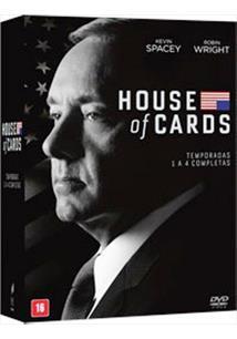 HOUSE OF CARDS - 01ª A 04ª TEMPORADAS (QTD: 16)
