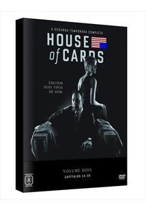 HOUSE OF CARDS - 02ª TEMPORADA (QTD: 4)