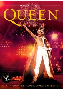 (CD+DVD) QUEEN MAIS SUCESSOS - LIVE IN BUDAPEST 1986 & VIDEO COLLECTION (DUPLO)