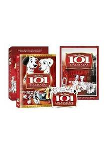 101 DÁLMATAS (EDIÇÃO PLATINUM DE COLECIONADOR - DVD DUPLO + LIVRO ILUSTRADO) (D...