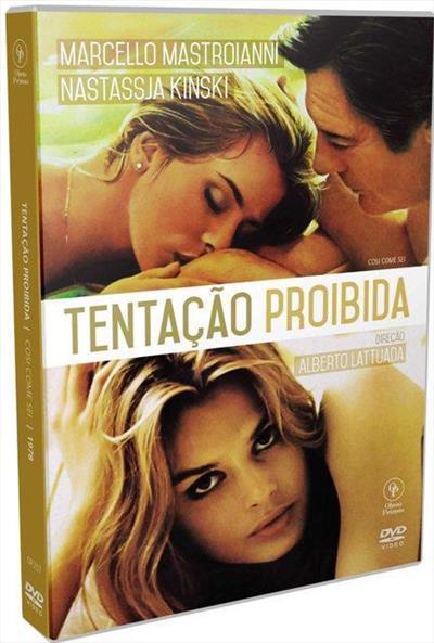 TENTAÇÃO PROIBIDA (1978) - Alberto Lattuada - DVD