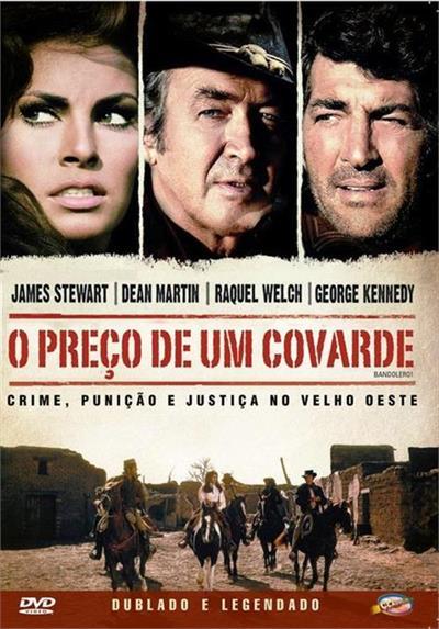 O PREÇO DE UM COVARDE - Andrew Laglen - DVD