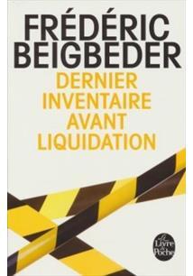 DERNIER INVENTAIRE AVANT LIQUIDATION - 1ªED.(2013)