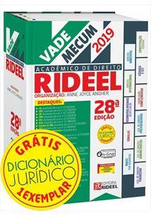 VADE MECUM ACADEMICO DE DIREITO RIDEEL 28º EDIÇAO 2019 - 28ªED.(2019)