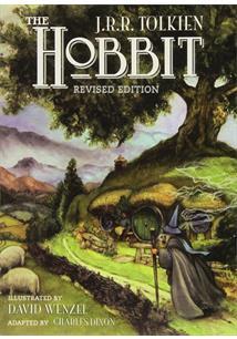 24113a79b THE HOBBIT  GRAPHIC NOVEL - J. R. R. Tolkien - Livro