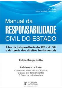 e34433c97 LIVRO MANUAL DE RESPONSABILIDADE CIVIL DO ESTADO: A LUZ DA JURISPRUDENCIA  DO STF E DO