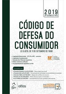 CODIGO DE DEFESA DO CONSUMIDOR: LEI 8.078, DE 11 DE SETEMBRO DE 1990 - 32ªED.(2019)